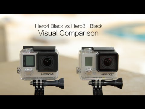 GoPro Hero4 vs Hero3+ Black - Visual Comparison - GoPro Tip #378
