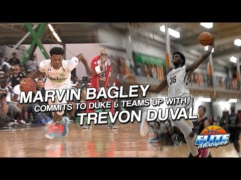 WHO CAN STOP Trevon Duval & Marvin Bagley?? Duke Basketball P Mixtape