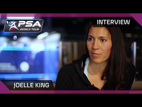 Squash: Joelle King - Interview