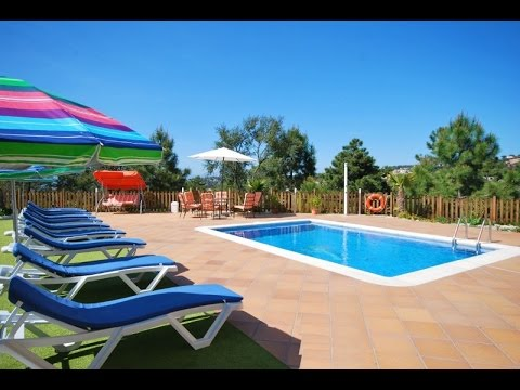 Private Swimming Pool In A Big Garden And Beautiful View Of The Quiet Surroundings Youtube