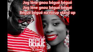 Canabasse - Bégué (Feat. Adiouza) (Lyrics)