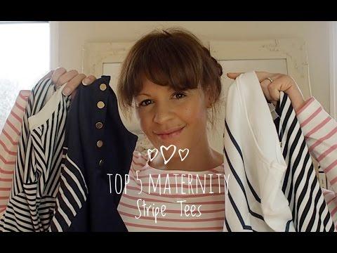 My Top 5 Maternity Stripe Breton Tops X