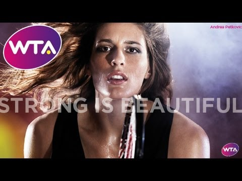 WTA Strong is Beautiful Short Film - Sharapova, Serena Williams, Wozniacki & Ivanovic