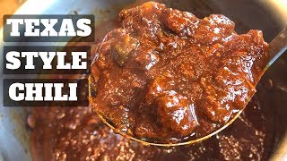 Slow Cooked Texas Style Chili Con Carne