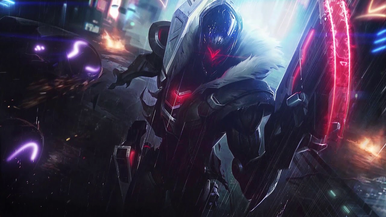 Jhin Project League Of Legends Wallpaper Engine Youtube