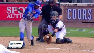 NYM@COL: Diaz fans Granderson for first K with Rox