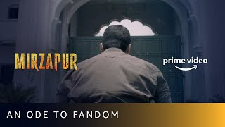 Mirzapur 2 Release Date - An Ode To Fandom | Amazon Prime Video