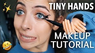 TINY HANDS MAKEUP CHALLENGE