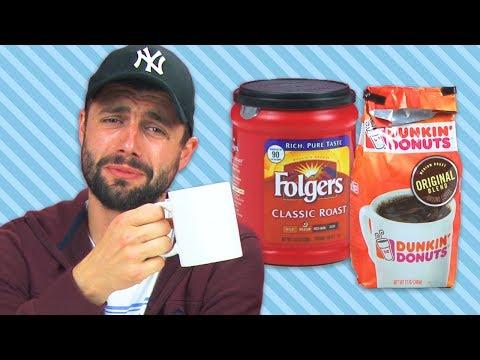 Irish People Taste Test American Coffee