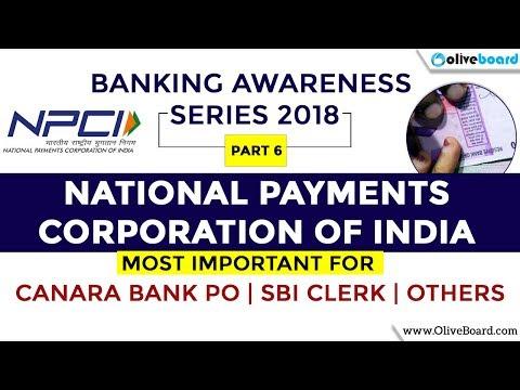NPCI   Banking Awareness Series 2018   SBI Clerk   RBI   SBI PO   Others