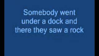 Rock lobster with lyrics