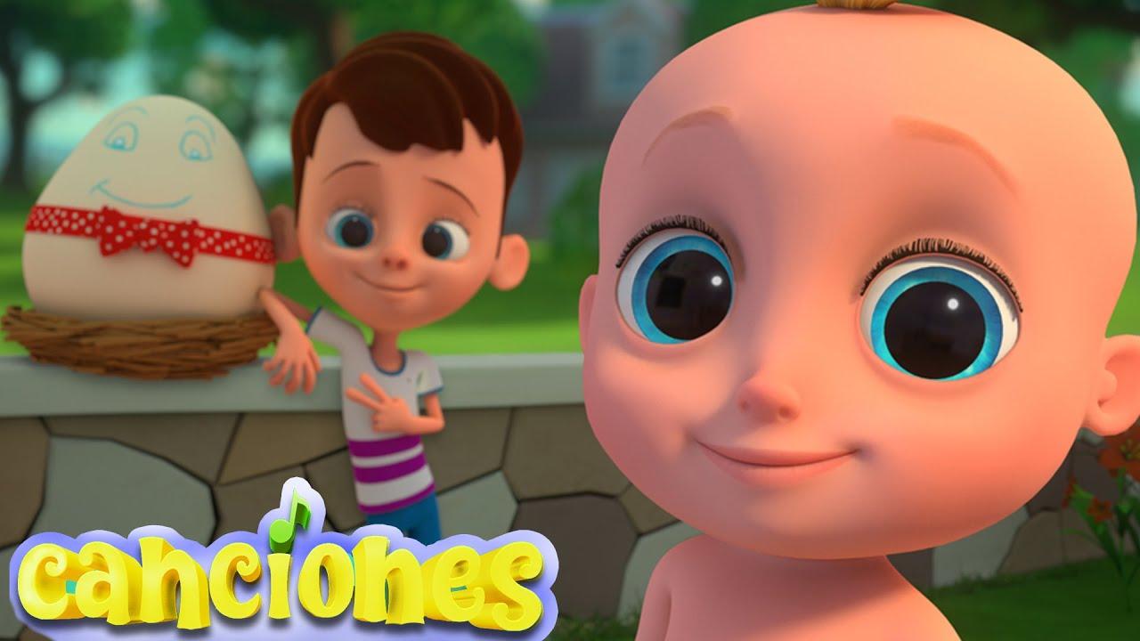 Humpty Dumpty | CUCÚ CANTABA LA RANA y más Canciones Infantiles en Español | LooLoo