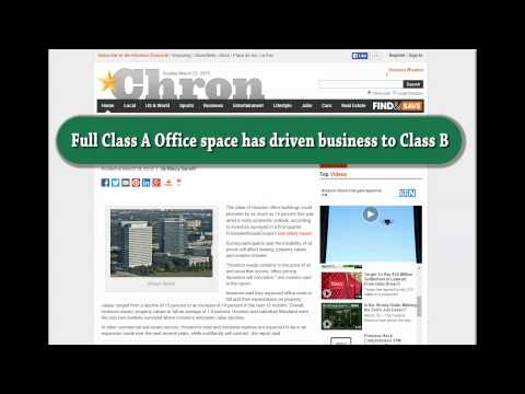 Houston Office Rents to drop this year? (Houston Chronicle Response)