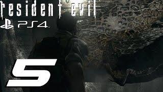 Resident Evil HD Remaster (PS4) - Chris Walkthrough Part 5 - Yawn Boss & Rebecca Gameplay