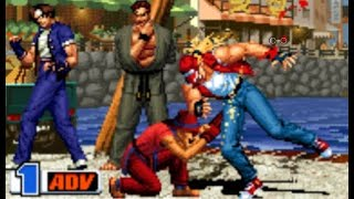 [TAS]ARCADE The King of Fighters '98-Kyo Kusanagi.Choi Bounge.Takuma Sakazaki