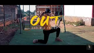 ZEDK X SKORP • OUT (LYRICS)