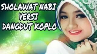 Gambar cover Album Sholawat Versi Dangdut Koplo Bikin Hati Adem Damai