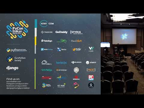 Image from PyCon Balkan Belgrade 2018 - Day 1 - LIVE STREAM