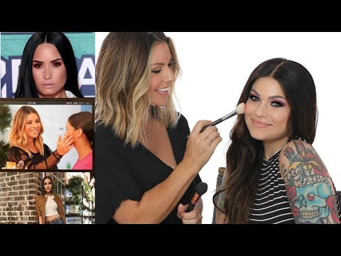 celebrity makeup artist does my makeup ! Jill Powell's tips & tricks for bomb makeup | Bailey Sarian