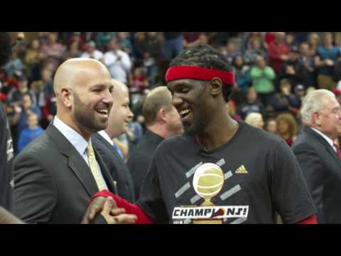 Wired: Briante Weber Receives NBA D-League Championship Ring!