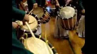 Kerala Chenda melam in Londonderry /Derry