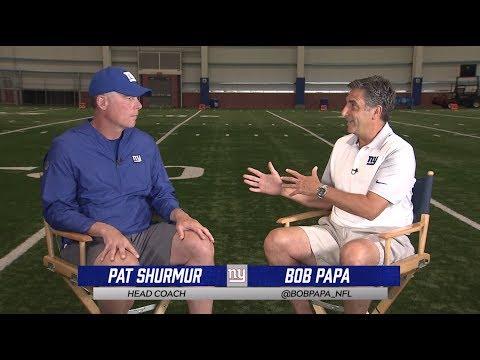 Pat Shurmur 1-on-1 interview with Bob Papa
