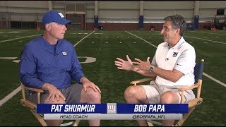 Pat Shurmur 1-on-1 interview with Bob Papa