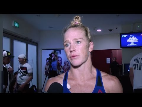 Fight Night Singapore: Holly Holm Backstage Interview