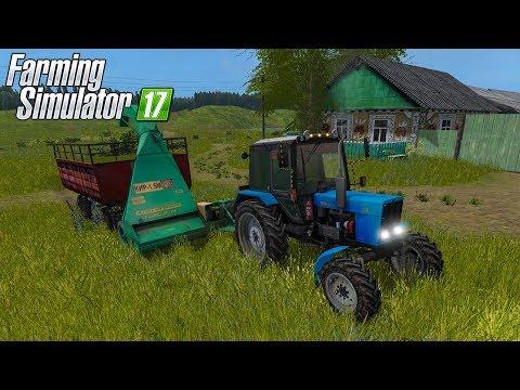 ВНУК ПОМОГ БАБУШКЕ ПОКОСИТЬ ТРАВЫ НА ЗИМУ! FARMING SIMULATOR 17 thumbnail