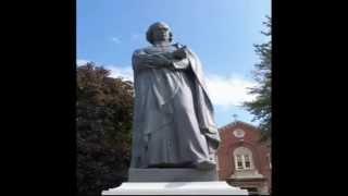 聾教育者 シャルル・ミシェル・ド・レペー銅像