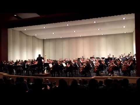 Garfield HS Symphony Orchestra side by side concert with the Seattle Symphony.