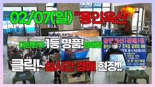 02/07(일) 용인옥션만물!실시간경매! 최저가경매! …