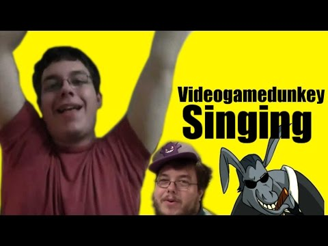 Videogamedunkey Singing Compilation