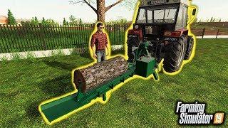 Rębak Do Drzewa ♀️ Rolnicy z Miasta  Farming Simulator 19