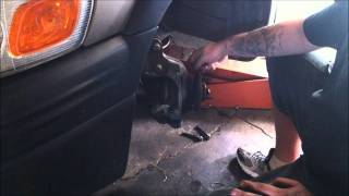 How to change a  FWD GM front wheel bearing