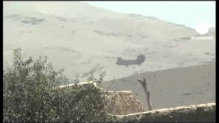 Вертолёт НАТО подбили талибы(Вертолёт НАТО на востоке Афганистана сбили боевики движения