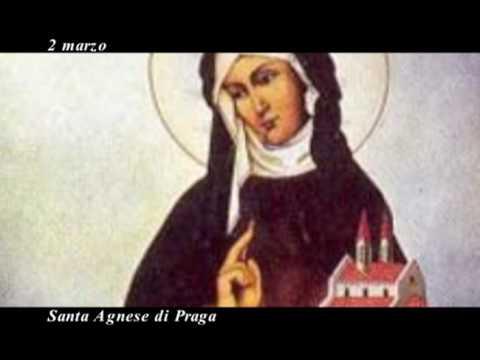 Il Santo Del Giorno Santa Agnese Di Praga Youtube