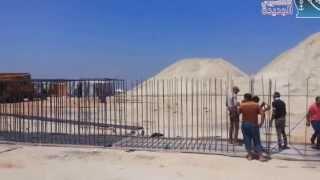 قناة السويس الجديدة : مشاهد من الحفر والتكريك يوليو 2015 وعبور تجريبى أول سفينة قناة السويس الجديدة