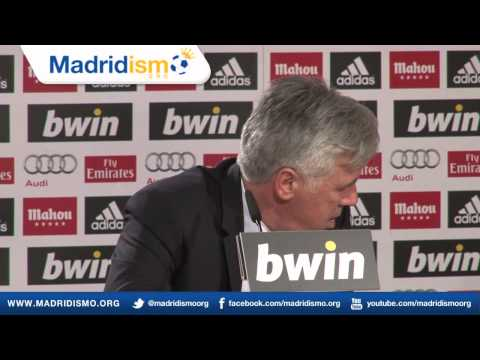 Carlo Ancelotti Full Press Conference in English