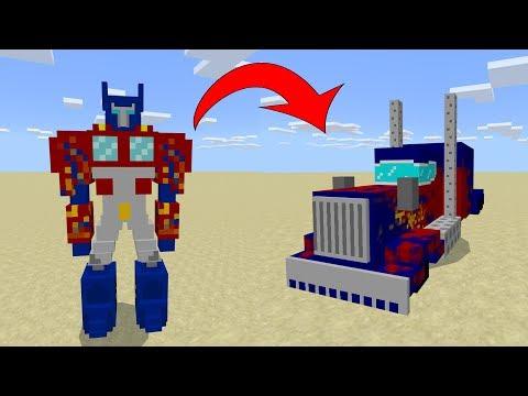 Трансформеры в Minecraft PE 1.7!