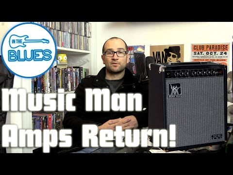 Music Man Amps are BACK! - INTHEBLUES Tone Podcast