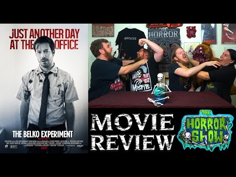 """The Belko Experiment"" 2017 Horror Movie Review - The Horror Show"