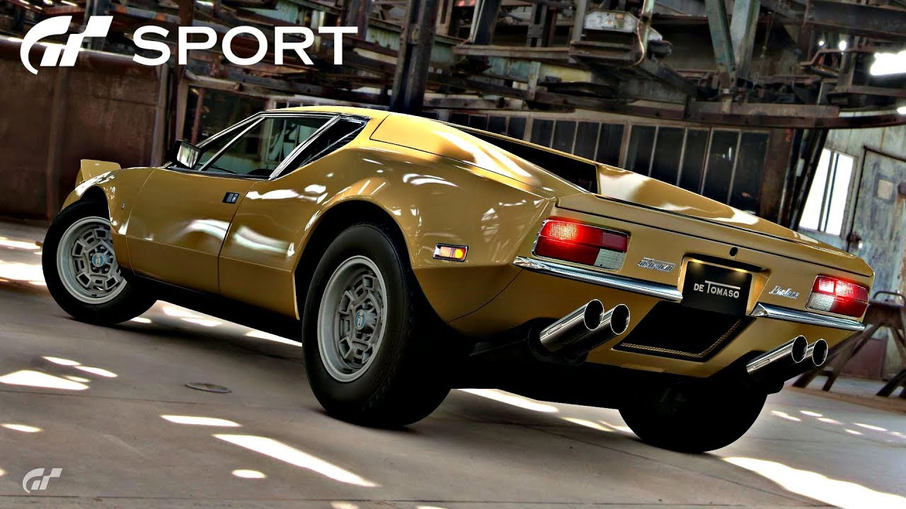 gt sport de tomaso pantera review youtube. Black Bedroom Furniture Sets. Home Design Ideas
