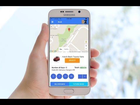 eZhire - Car Rental, Delivered On-demand - Apps on Google Play