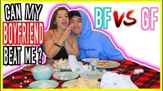 BF Vs. GF Christmas cookie challenge