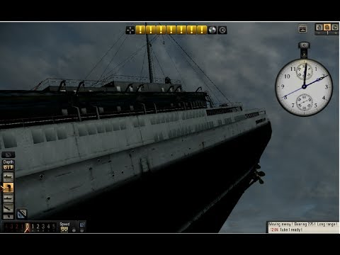 Queen Mary (Silent Hunter V) FULL HD with High FPS
