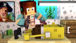 Minecraft: CIRURGIA NO BOB ESPONJA - ( Surgeon Minecraft)