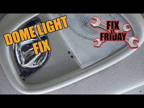 Replace Rear Dome Light Dodge Dart/Chrysler 200/Fiat Viaggio
