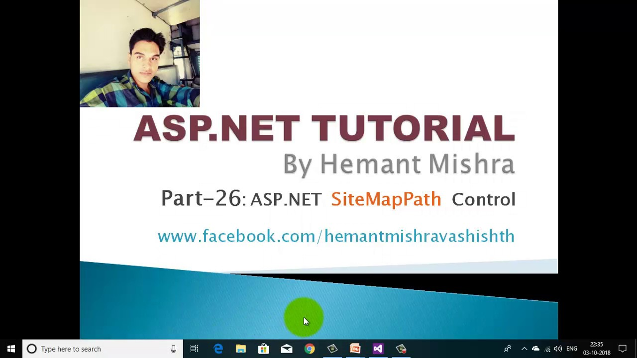 Download SiteMapPath control in asp.net in Hindi by Hemant Mishra part 26 || Navigation Control