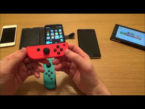 Connecting Joy-Con Controller To Android Phone